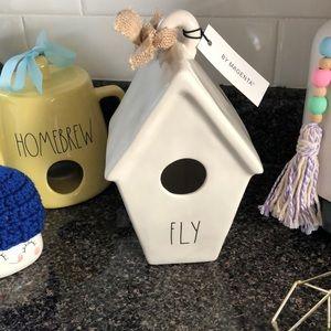 """Rae Dunn """"FLY"""" bird house"""